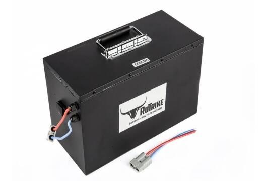Литиевый тяговый аккумулятор RuTrike (18650 MnCoNi) 60V52A/H