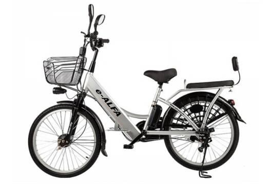Электровелосипед e-Alfa (велогибрид)