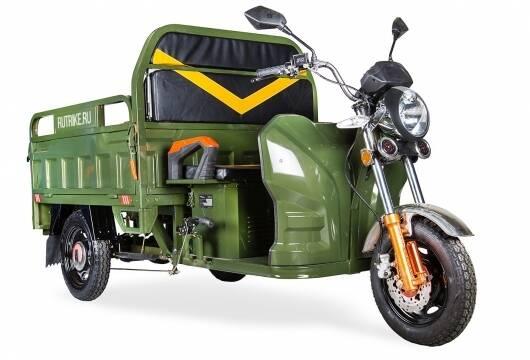 Грузовой электрический трицикл Rutrike Дукат 1500 60V 1000W